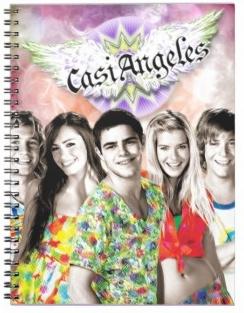 TEENS STORE : Casi Ángeles, TeenAngels, Floricienta, Chiquititas, Jake & Blake, Supertorpe: Cuadernos Casi Ángeles