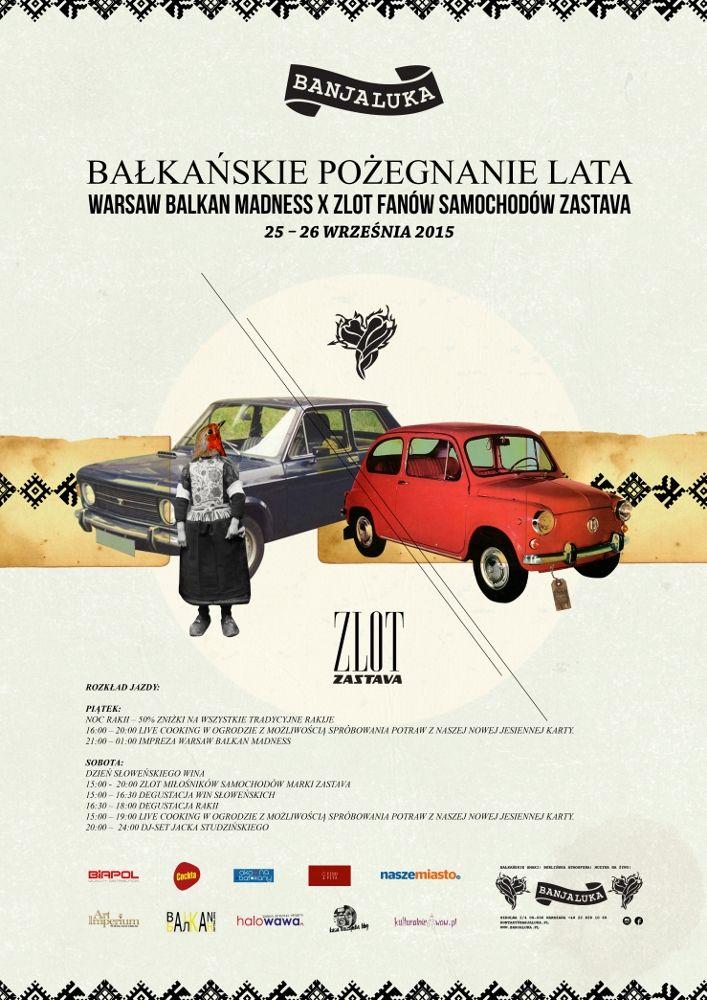 Banjaluka - bałkańskie pożegnanie lata