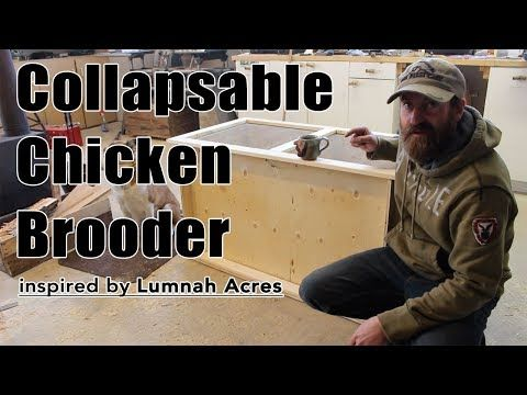 This chicken brooder is simple to make, and will only cost you roughly $50. Possibly less depending on what you might already have lying around your house or shop. The brooder collapses completely, and is easily stored without taking up much space at all. Once the initial construction is complete, the collapsable brooder is assembled and taken apart with just 8 screws.