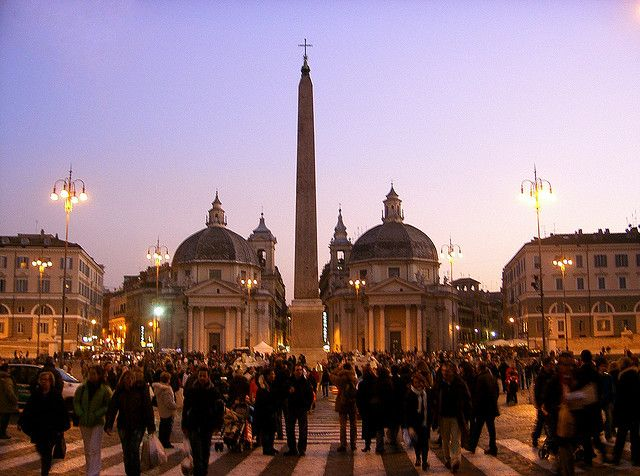 Piazza del Popolo by Giappi76, via Flickr