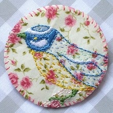 charming bird embroideries from teasemade