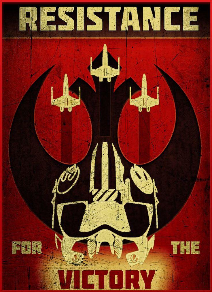 Star Wars - Resistance by Aste17.deviantart.com on @DeviantArt