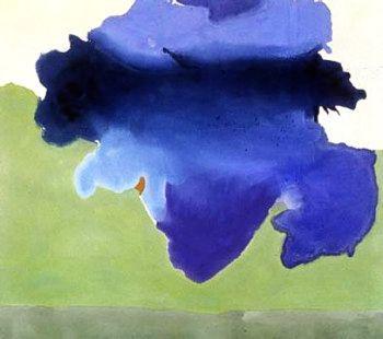 Helen Frankenthaler ~ The Bay 1963