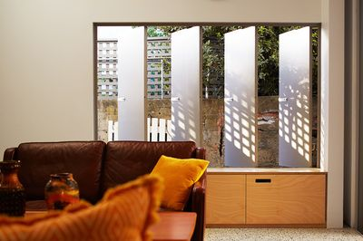 Operable Shutters South Terrace Additions  Philip Stejskal Architecture