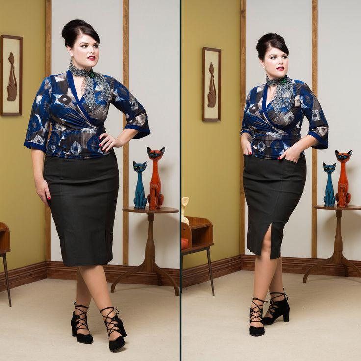 Madison Avenue Pullover & Siebert Pencil Skirt.  SHOP THE LOOK: Top - http://sprinkleemporium.bigcartel.com/product/madison-avenue-pullover