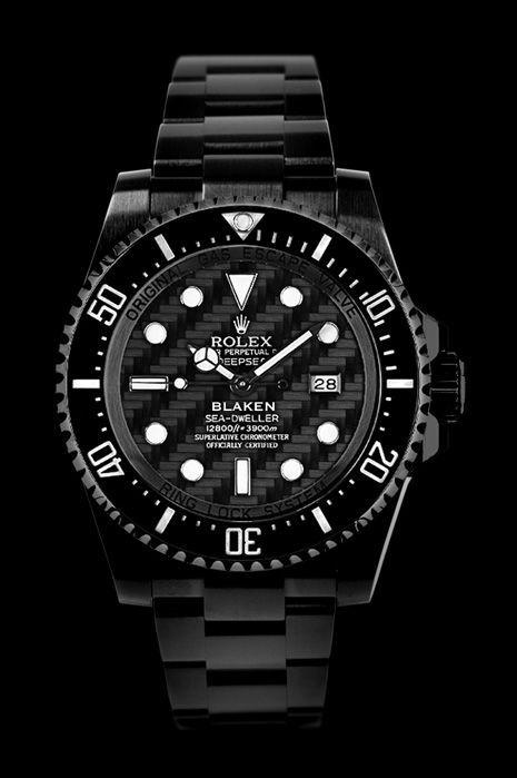 Blaken – Custom Rolex Watches with Diamond Like Coating