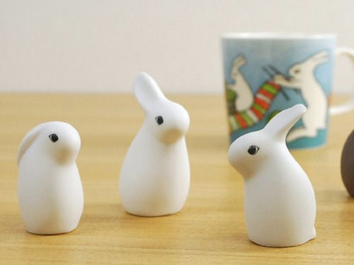 Arabia Helja Collection Bunnies by Heljä Liukko-Sundström for Arabia Finland. So…