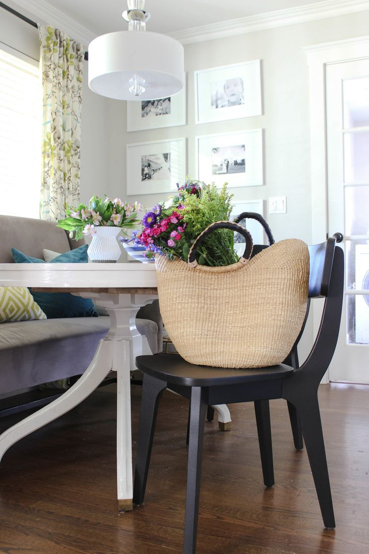 Dining Room Chairs Paint Makeover — Chic Little House