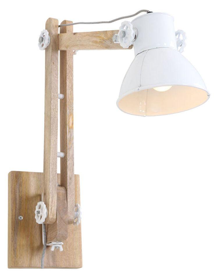Perfect Scandinavian Wand Schreibtischlampe Light u Living Efren wei