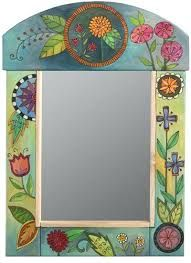 Image result for painted mirror frames ideas