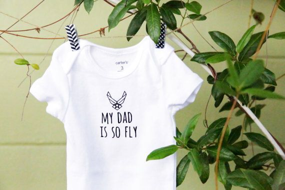 Air Force Baby Bodysuit by TresBebes on Etsy