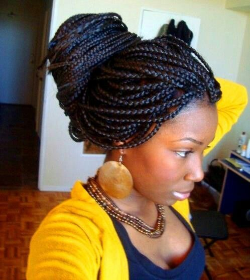 Pleasant 1000 Images About Box Braid Styles On Pinterest Protective Short Hairstyles For Black Women Fulllsitofus