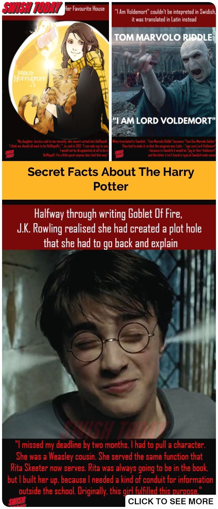 Amazing Facts About The Harry Potter Will Cast A Spell On You Harrypotter Facts Hidden Facts Memes Intr Harry Potter Facts Harry Potter Funny Potter Facts