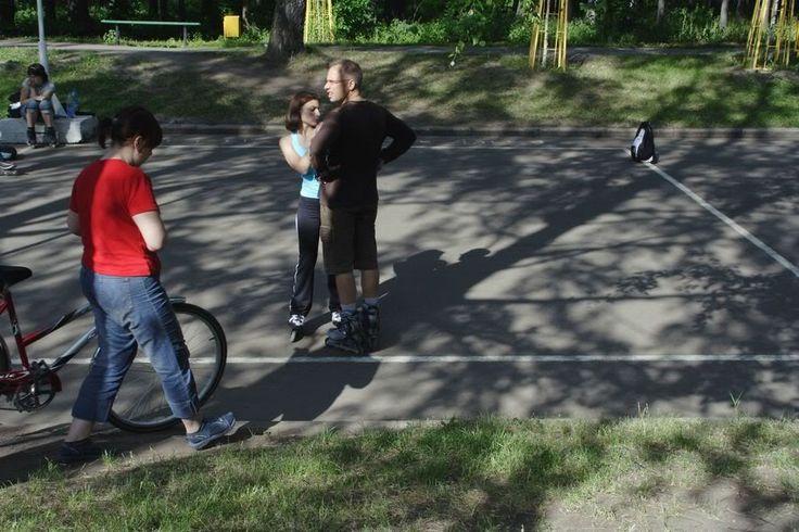 Парк Сокольники. Катание на роликах. Лето 2007. - Фотограф Александр Слюсарев