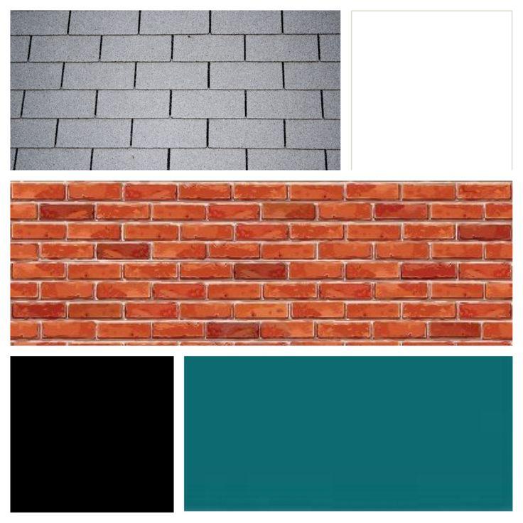 17 Best Images About Brick House Color Ideas On Pinterest