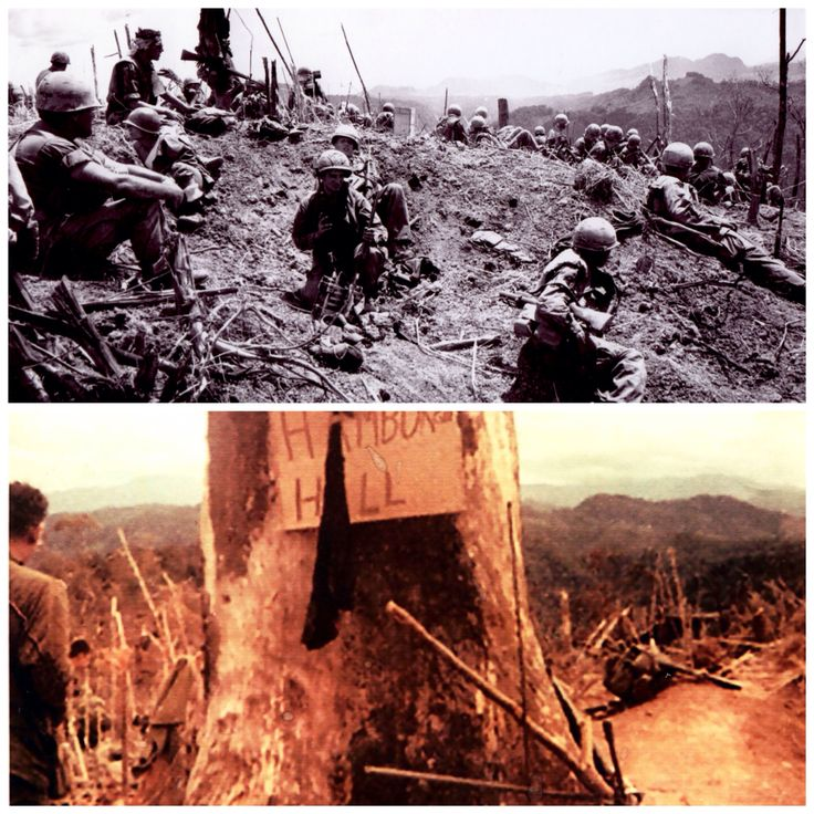 """A Shau Valley hill # 937 Battle began May 10th ended May 20th Brutal Battle, left 72 KIA,400 wounded. The hill was named """"Hamburger Hill"""" as it was described as going thru a human meat grinder. Someone stuck a piece of cardboard to a tree with a bayonet saying, """"Hamburger Hill"""" underneath a soldier added """" Was it Worth it"""" ! 15 days later June 5th we abandoned the hill and the NVA reclaimed it immediately! Yet is was called a AMERICAN VICTORY. It changed us forever after that!"""