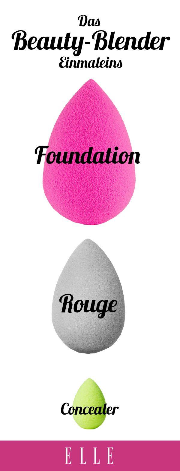 Ein kleines, eierförmiges Make-up-Tool hat unsere Beauty-Routine komplett verändert: der Beautyblender. Denn: Er macht das gleichmäßige Auftragen von Foundation, Concealer, Rouge & Co. zum Kinderspiel.