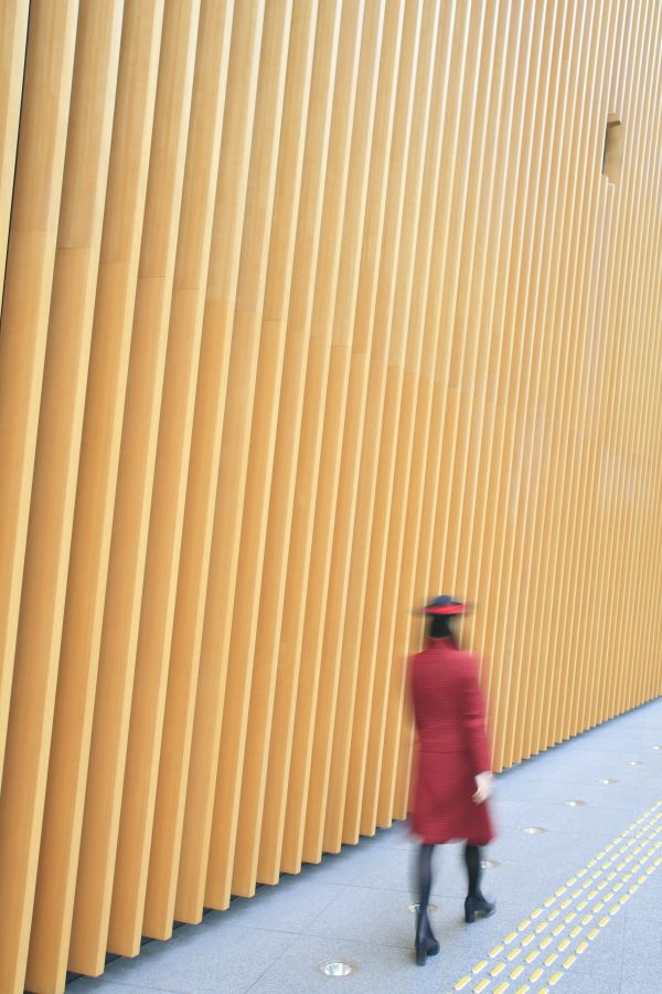 Japan, Tokyo, International Forum by Rafael Vinoly ©Ludovic Maisant