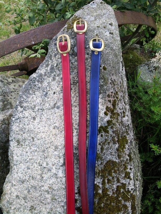 3/4 inch plain leather belt
