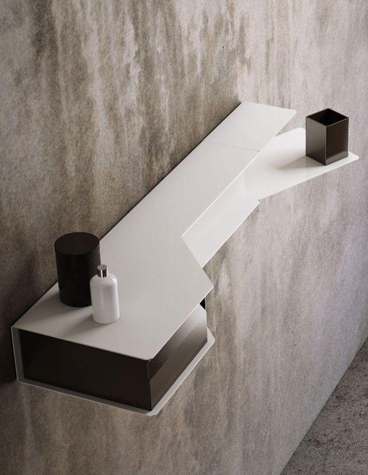 Valli Arredobagno, per gli amanti del #design moderno ed attuale e le forme geometriche innovative. - www.gasparinionline.it #bagno #bathroom #moderndesign #interiors