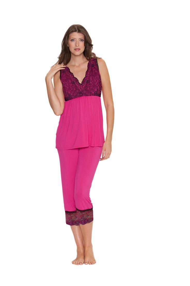 #sexy #pink #pyjamas #christmas #sexy #lingerie #sleepwear #present