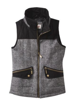 I like that this vest has some style on its own, and doesn't necessary require a statement shirt.