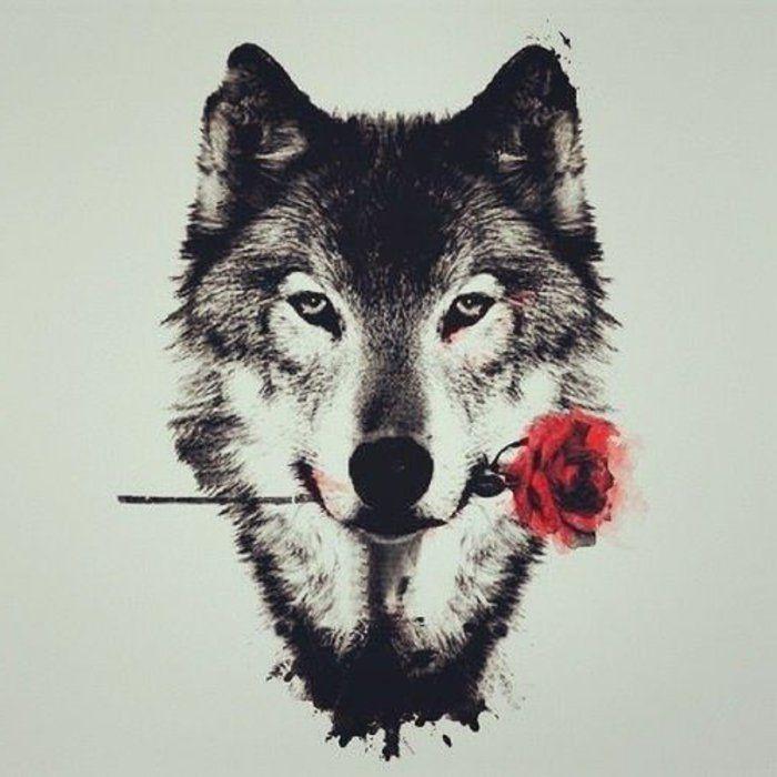 ▷ 1001 + Ideen für einen tollen Wolf Tattoo, die Ihnen sehr gut gefallen könnten – Kirk Butterfly