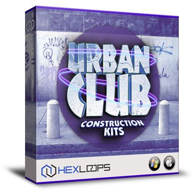 Hex Loops proudly presents Urban Club, a fresh collection that features 5 awesome hip hop modern construction kits, wav loops, midi files, soundfonts instruments.