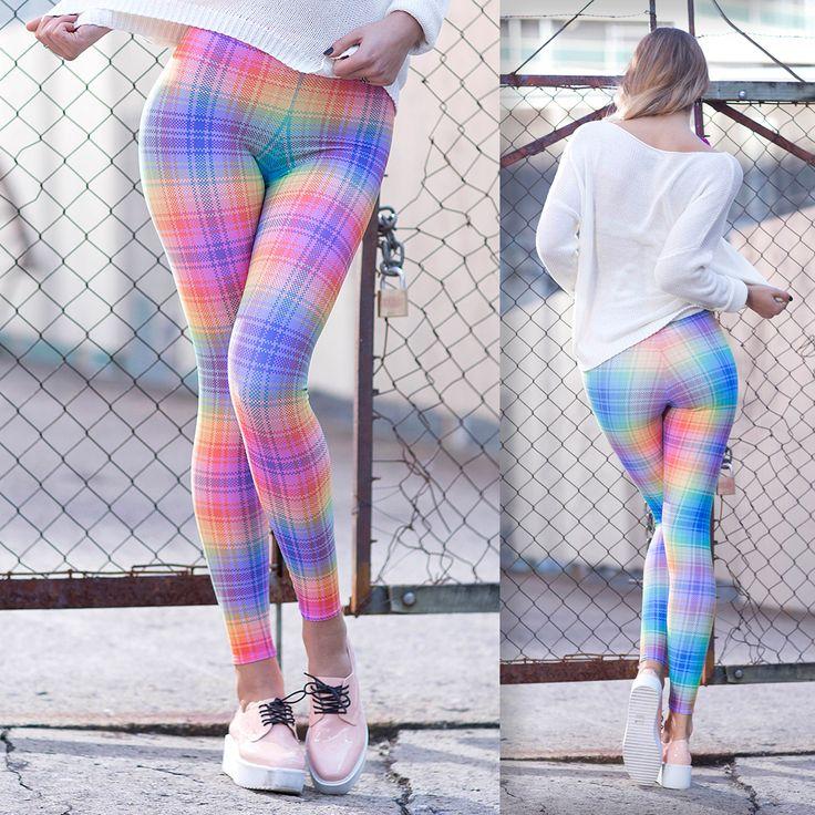 Tartan Rainbow Toasties - 48HR (WW ONLY $80AUD) by Black Milk Clothing