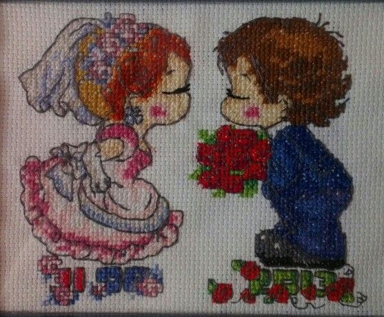 Wedding stitching