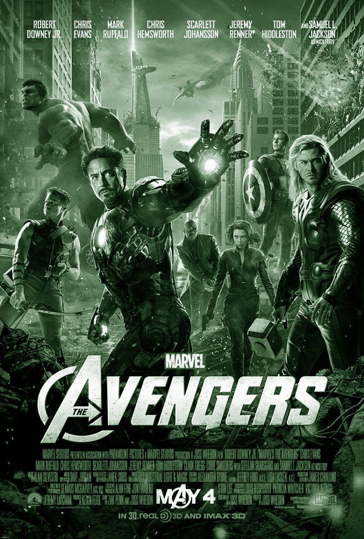 THE AVENGERS is een Amerikaanse actiefilm uit 2012, geproduceerd door Marvel Studios en gedistribueerd door Walt Disney Pictures. Het verhaal is gebaseerd op de Marvel Comics met dezelfde naam. Het is het zesde deel van de Marvel Cinematic Universe, na Iron Man, The Incredible Hulk, Iron Man 2, Thor en Captain America: The First Avenger.