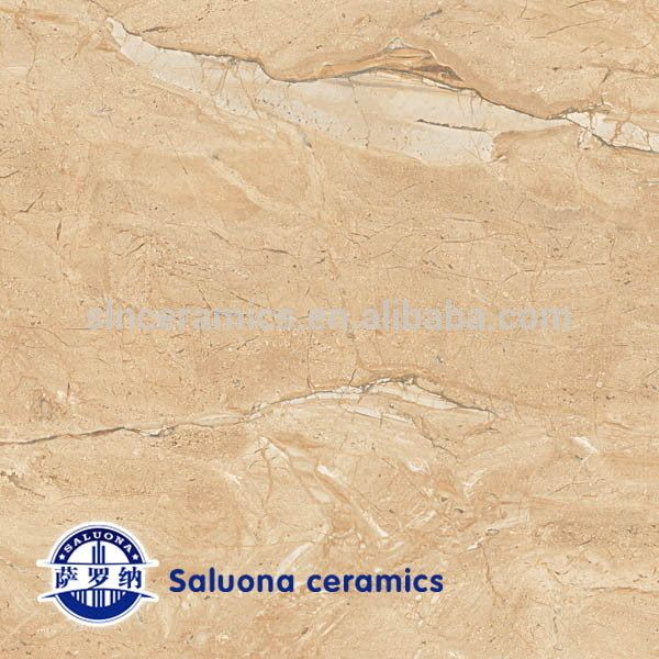 Oem&odm light color rock polished vitrified tiles(S-953)