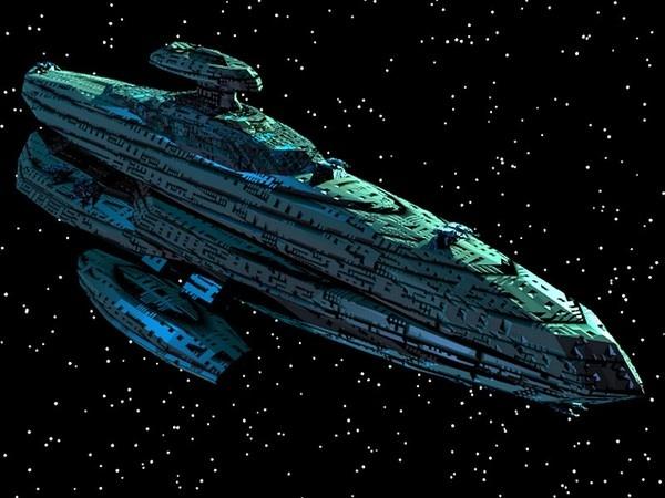 capital spaceship ships 3d 3ds - Capital Spaceship by GraphicGuru