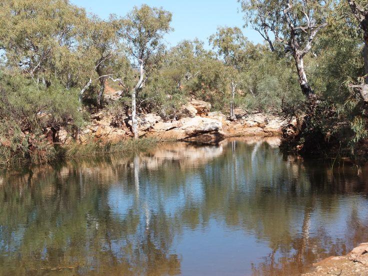 Water hole Pilbara, Wa