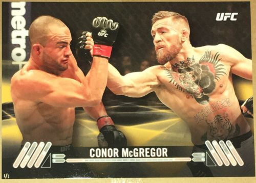 Mixed Martial Arts MMA Cards 170134: Conor Mcgregor 2017 Topps Ufc Knockout Poster Gold 1 1 One Of One Mayweather -> BUY IT NOW ONLY: $399.99 on eBay!