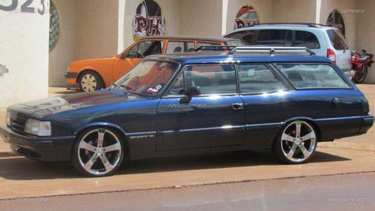 "Chevrolet Caravan 1990 com rodas   aro 19""  foto 1"