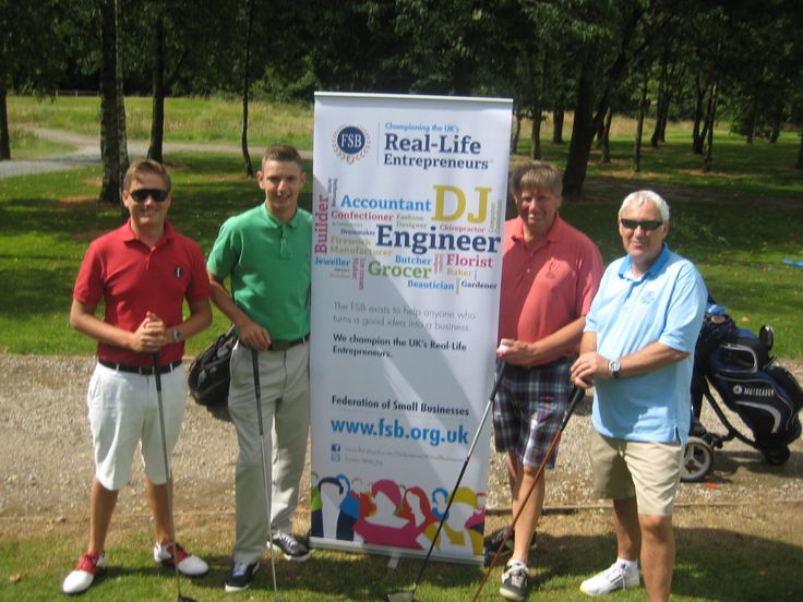 Golf day at Carus Green organised by the FSB