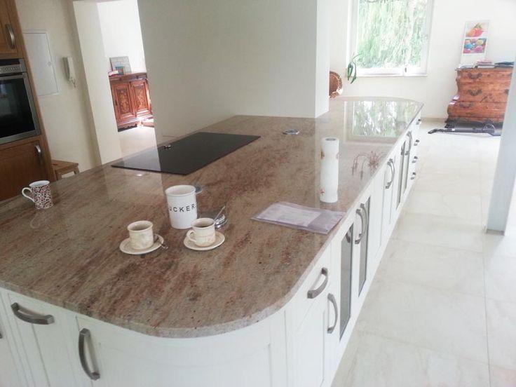 Aufmaß, Lieferung und Montage der #Granit #Arbeitsplatten - küchenarbeitsplatte aus granit