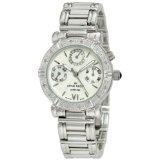 Anne Klein Women's  10-7899MPSV Diamond Accented Multi-Function Silver-Tone Watch (Watch)By Anne Klein