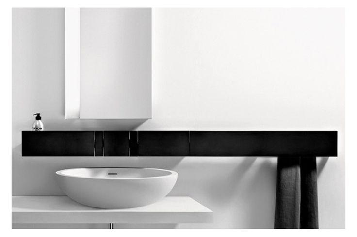The Sen range of bathroom accessories have been designed by Nicolas Gwenael (Curiosity) for Agape.