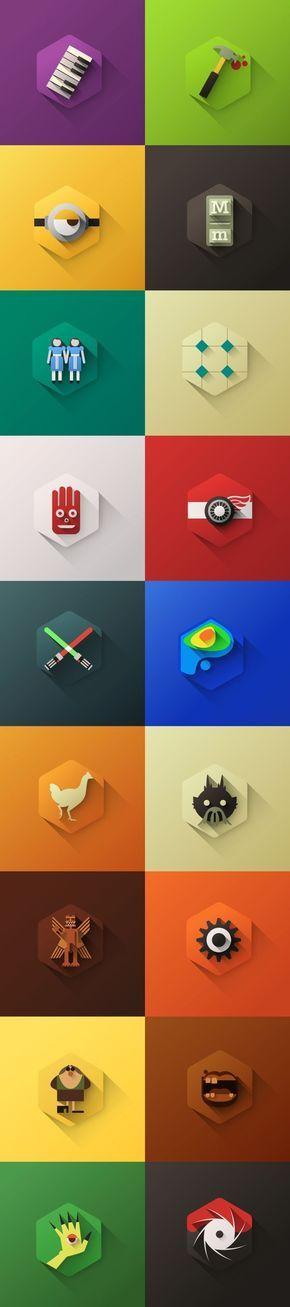 50 designs de qualité à voir autour des icônes d'applications   BlogDuWebdesign