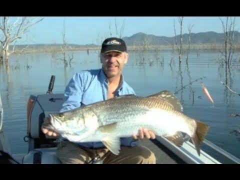 Fishing Video Big Barramundi Fish Peter Faust Dam Mancing North Queensland Australia Andysfishing