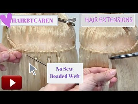 Hair Extensions Bead weft or Quick weft NBR Handti…