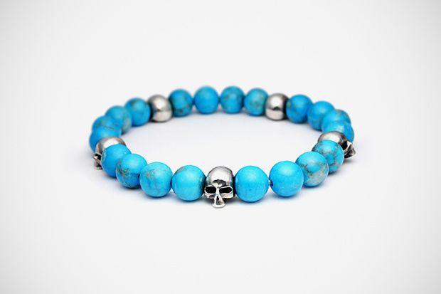 jam home made skull prayer beads bracelet