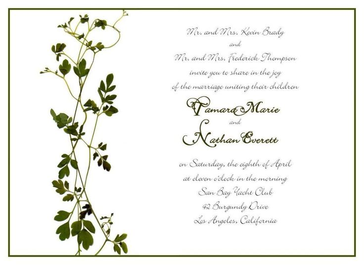 Examples Of Wedding Invitation Wording: 1000+ Ideas About Wedding Invitation Wording Examples On