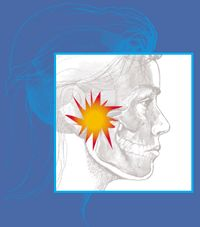 TMJ - Temporomandibular joint and muscle disorder. Having pain in your jaw.