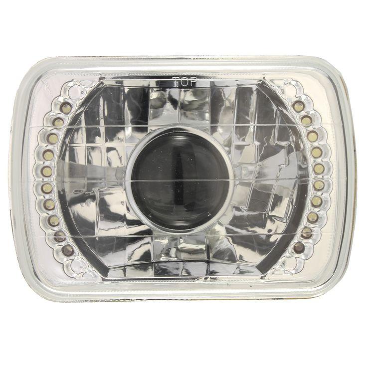 H6014/H6052/H6054 Chrome 7x6 LED Ring Projector Headlight Conversion Kit