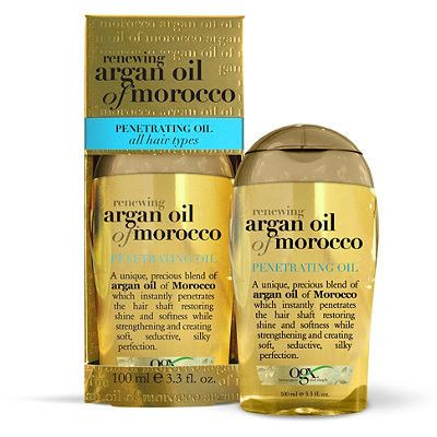 OGX Argan Oil Renewing Penetrating Oil All Hair Types 3.3 Ounce