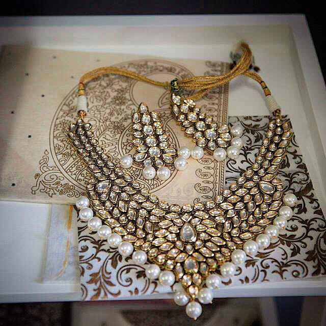 Custom bridal set by Royal Charms 1800.380.6849 Royalcharmsinc@gmail.com