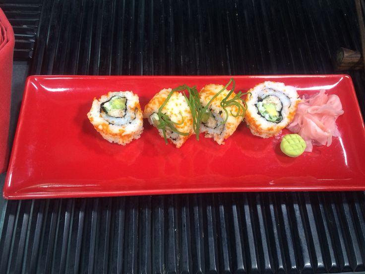 Sushi at Maguro Asian Bistro, Nusa Dua Beach Hotel & Spa, Bali